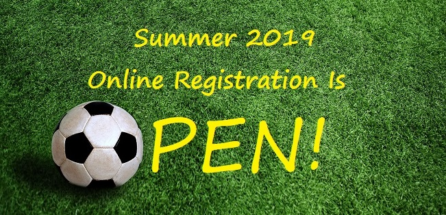 Summer Registration Is Open......