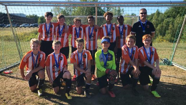 U13A Boys Win Provincial Silver